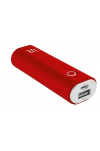 Obrázok pre TRUST CINCO PowerBank 2600 Portable Charger, red/white