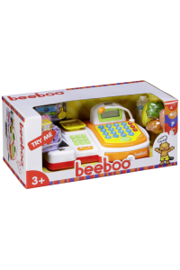 Obrázok pre Beeboo Kitchen Toy Cash Register with Conveyor Belt and Scanner