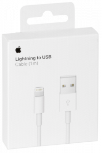 Obrázok pre Apple Lightning to USB Cable 1,0m MQUE2ZM/A