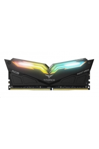 Obrázok pre DIMM DDR4 16GB 3200MHz, CL16, (KIT 2x8GB), TEAM T-FORCE Night Hawk RGB (Black)