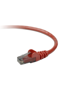 Obrázok pre Belkin CAT 5 e network cable 0,5 m UTP red snagless
