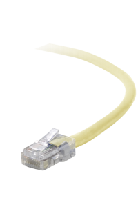 Obrázok pre Belkin CAT 5 e network cable 1,0 m UTP yellow assembled