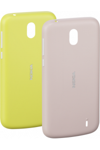 Obrázok pre Nokia X-Press On Cover Dual Pack Pink & Yellow