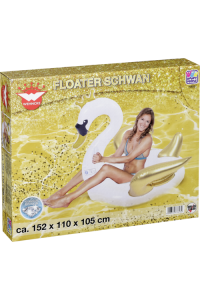 Obrázok pre Float Toy Swan inflatable Glamour Edition