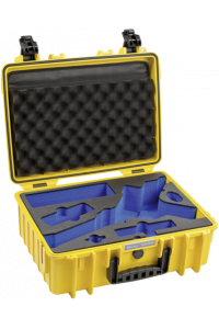 Obrázok pre B&W Outdoor Case Type 5000/Y yellow with DJI Ronin S Inlay