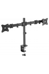 Obrázok pre DIGITUS Universal Dual Monitor Stand with clamp mount