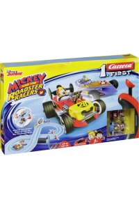 Obrázok pre Carrera FIRST Mickey and the Roadster Racers 2,4 m 20063029