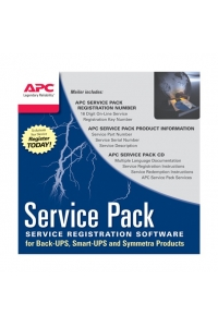Obrázok pre APC 1 Year Service Pack Extended Warranty (for New product purchases), SP-01