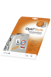 Obrázok pre Opti style Adhesive Paper A 4 10 Sheets