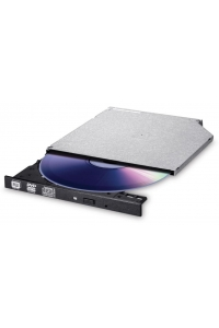 Obrázok pre HITACHI LG - interní mechanika DVD-W/CD-RW/DVD±R/±RW/RAM/M-DISC GUE0N, Slim, 9.0 mm Tray, Black, bulk bez SW