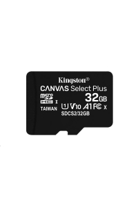 Obrázok pre Kingston 32GB micSDHC Canvas Select Plus 100R A1 C10 - 1 ks