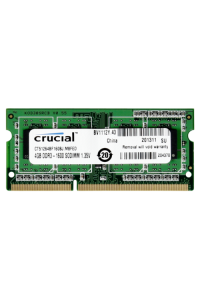 Obrázok pre Crucial 4GB DDR3 1600 MT/s CL11 PC3-12800 204pin single ranked
