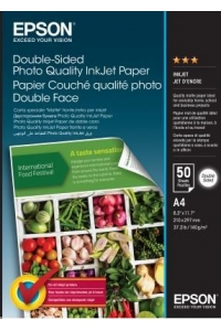 Obrázok pre EPSON Paper A4 - Double-Sided Photo Quality Inkjet Paper A4 50 Sheets