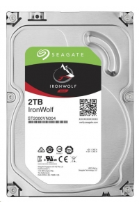 Obrázok pre SEAGATE HDD IRONWOLF (NAS) 2TB SATAIII/600, 5900rpm, 64MB cache