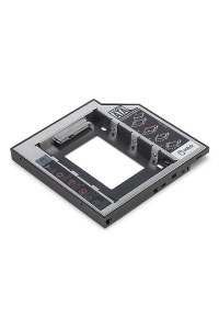 Obrázok pre Digitus 2nd SSD/HDD Caddy SATA to SATA III Supports 2.5 SSD or HDD with SATA I-III, 129x128x12,7 mm