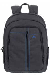 Obrázok pre Rivacase 7560 Backpack 15,6 black Canvas Material