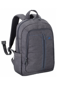 Obrázok pre Rivacase 7560 Backpack 15,6 Grey Canvas Material