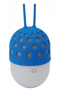 Obrázok pre Conceptronic Wireless waterproof Bluetooth LED Speaker blue