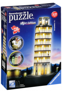 Obrázok pre Ravensburger 3D Puzzle Leaning Tower of Pisa by Night