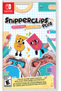 Obrázok pre Nintendo SWITCH Snipperclips Plus: Cut it out, together!