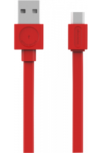 Obrázok pre allocacoc microUSB Cable red