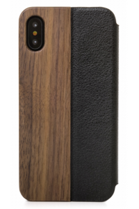 Obrázok pre Woodcessories EcoFlip Business iPhone X walnut + leather