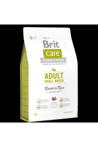 Obrázok pre Brit Care Dog Adult Small Breed Lamb & Rice 7,5kg