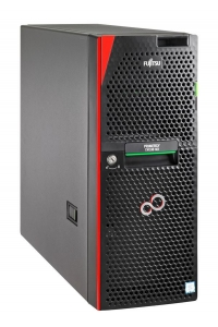 Obrázok pre FUJITSU SRV TX1330M3 - E3-1220v6 4C/4T, 8GB, 2x1TB SATA HS, 4xBAY3.5 H-P, RP1 450W, TOWER