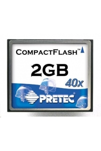 Obrázok pre PRETEC CompactFlash Card 1GB Type I Industrial Series, SLC chips