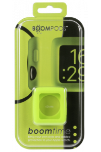 Obrázok pre Boompods Boomtime Silicon Cover for Apple Watch 42mm green