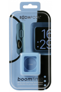 Obrázok pre Boompods Boomtime Silicon Cover for Apple Watch 42mm blue