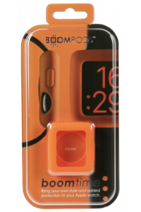 Obrázok pre Boompods Boomtime Silicon Cover for Apple Watch 42mm orange