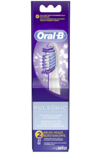 Obrázok pre Braun Oral-B extra brushes Pulsonic 2-parts