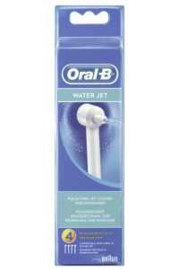 Obrázok pre Braun Oral-B Water Jet 4-parts replacement jets